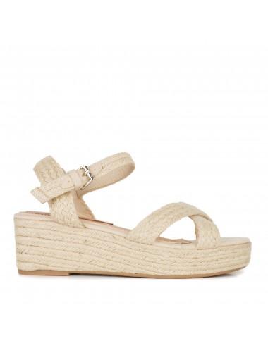 María Barceló M800401 Zapato Cerrado al Tobillo de Mujer en Piel con Cierre Ajustable con Doble Cremallera Camel